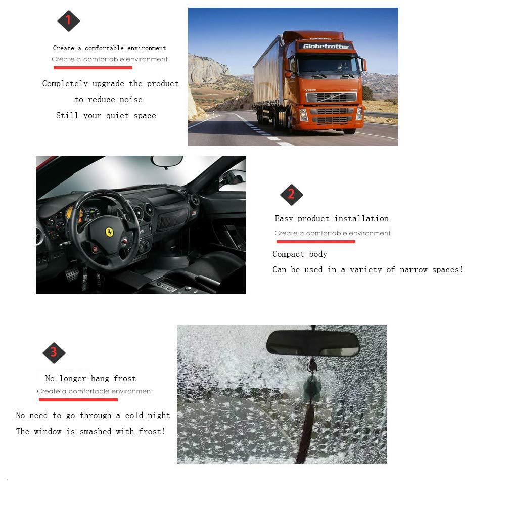 YMXLJJ Coche Calentador Aire Combustible Calentador Camión Diesel Calefacción Ventilador Anti-Congelar Motor Anticongelante Consumo Inferior 12V24V: ...