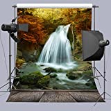 5X7FT Natural Waterfall Photo Background Photography Backdrop Studio Props A163