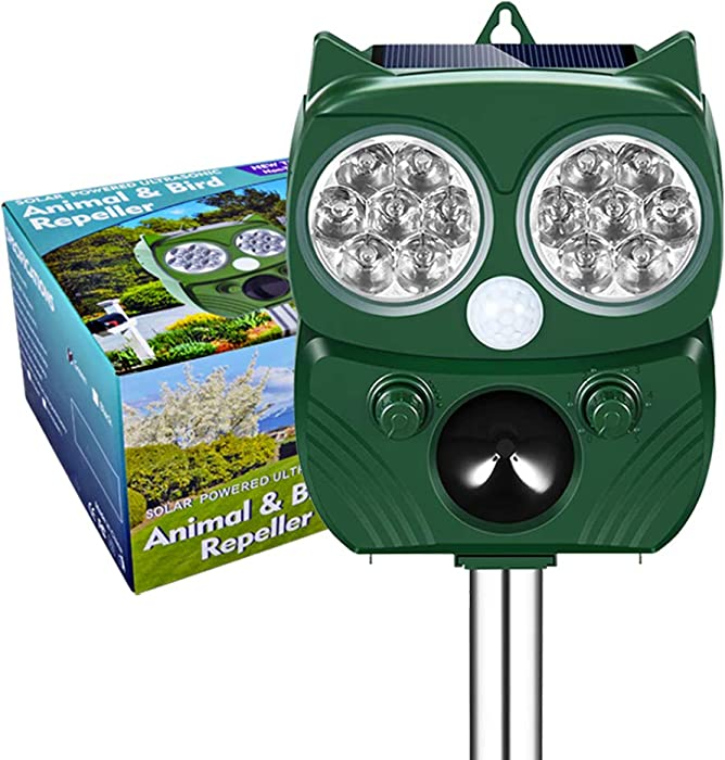 Top 9 Solar Powered Garden Animal