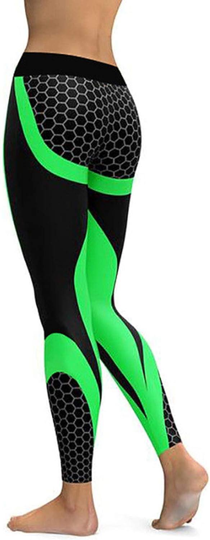 Cheryl Bull Trendy Mesh Pattern Print Fitness Sporting Workout Leggins Elastic Slim Black White Pants