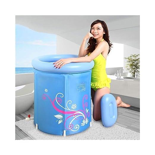 002 LQQGXL,Baño Bañera Hinchable Engrosamiento Plus Algodón Adulto ...