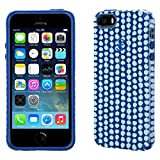 Speck CandyShell Inked Ponto Cell Phone Case for iPhone 5/5s - Blue (SPK-A2638)