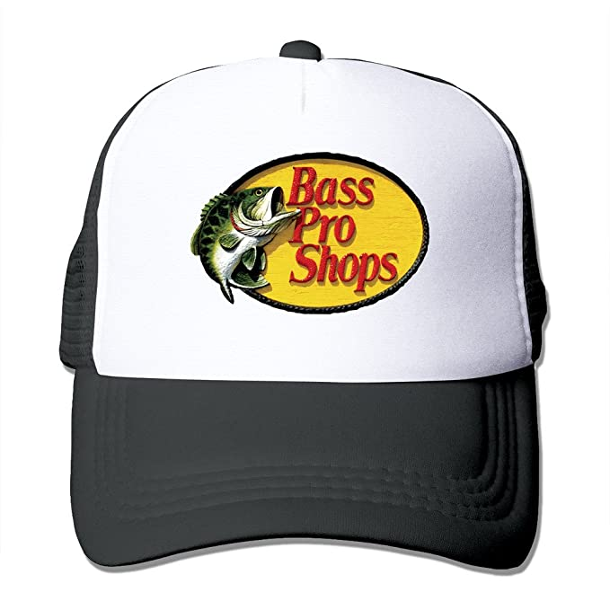 MYDT1 Unisex Bass Pro Shops Logo Classic Mesh Back Trucker Cap Hat   Amazon.ca  Sports   Outdoors 1f4af3a17d5