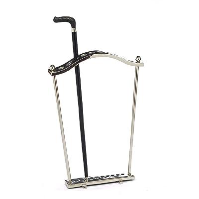 Canne de marche style antique bâton porte 3