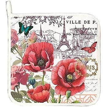 Michel Design Works Cotton Potholder, Toujours Paris