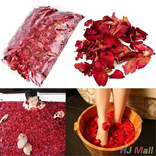 Natural Dried Rose Petals Skin Care Bathing Aromatherapy Supplies (Petals Rose Foot)