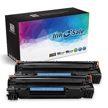 Amazon.com: e-sale Negro Cartucho de tinta para HP CE285 A ...