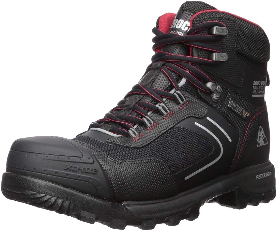Rocky Men's Xo Deluxe Waterproof Composite Toe Sales for sale Ankle Boot Work