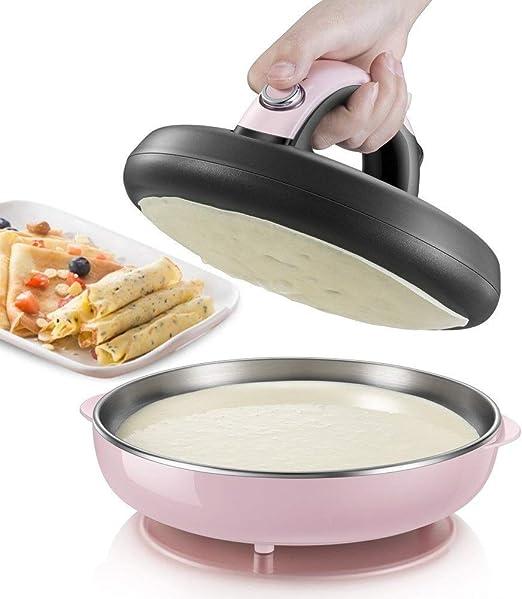 Opinión sobre Zcm Crepera Eléctrico Stick-máquina automática for no Fabricantes de Mini Tortitas pizzero Herramienta de la Cocina del hogar de cocción eléctrica Pan Stent de Metal