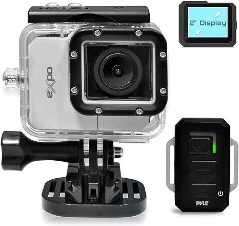 Pyle PSCHD90SL - Videocámara de Alta definición 1080p (cámara de 12 MP, Pantalla táctil de 2.4