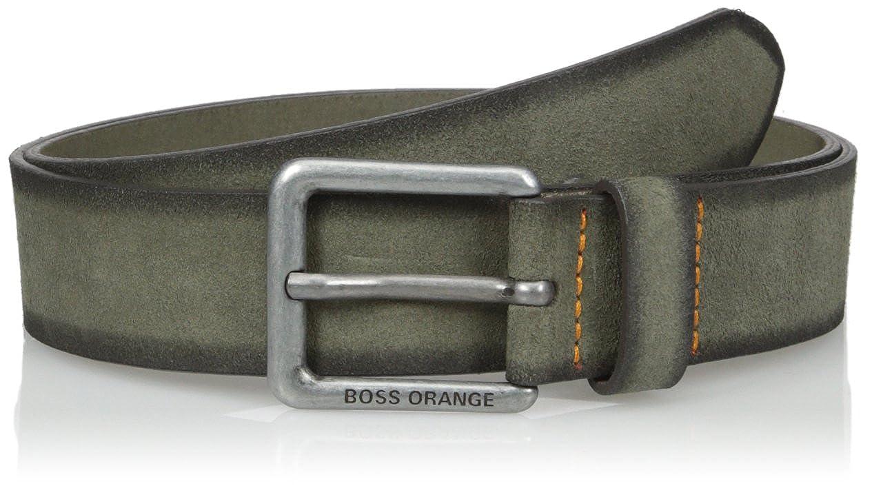 Jordi Suede Leather Belt