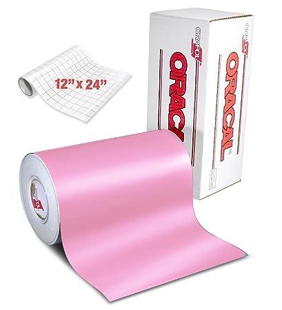 f40f18bb137 Amazon.com  ORACAL 631 Matte Soft Pink Adhesive Craft Vinyl 12