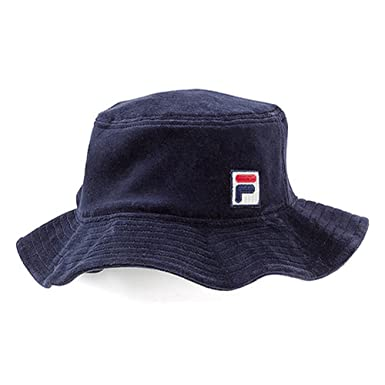 2ef37842 Amazon.com: Fila Men's Velour Bucket Hat,Blue,M/L: Clothing