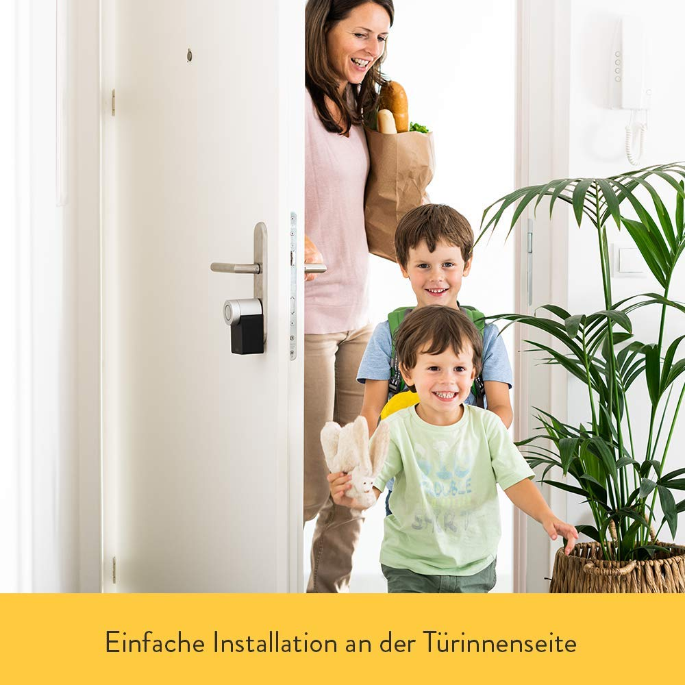 | Elektronisches T/ürschloss mit T/ürsensor nachr/üstbar iPhone /& Android Smart Home WLAN Bluetooth Nuki Combo 2.0 Smart Lock und WLAN-Bridge