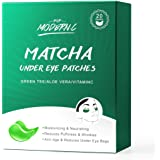 Under Eye Patches Matcha Under Eye Mask At Home Spa Skin Care Treatment Collagen Aloe Green Tea Eye Treatment Masks Eye Pads