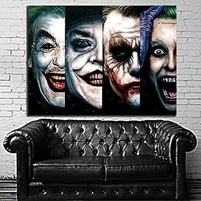 8mil Paper 100x135 cm Poster Mural Harley Quinn Joker Batman 40x54 in