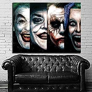 Poster mural comic 4 generatioin joker pop art for Poster mural 4 murs