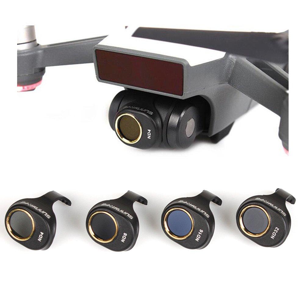gouduoduo2018 SPARK Lens Filter for DJI SPARK Drone (DN4 DN8 DN16 DN32) by gouduoduo2018