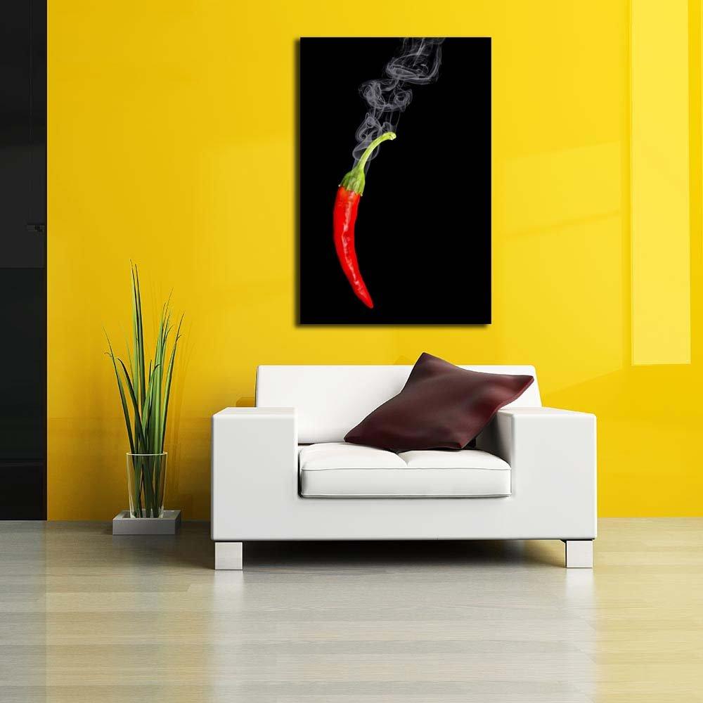 Amazon.com: PB Photo of Red Hot Chili Pepper Unframed Canvas ...