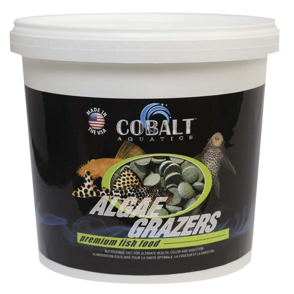 Cobalt Aquatics Algae Grazers Wafer, 6 lb by Cobalt Aquatics