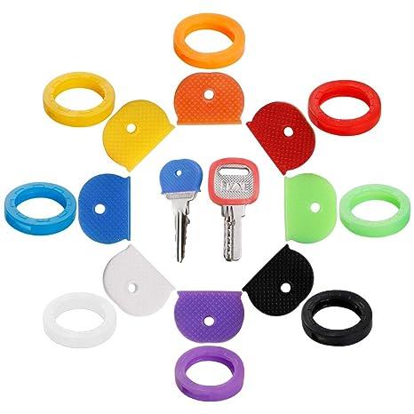 Amazon.com: 16 tapas para llaves, llavero, combinación ...