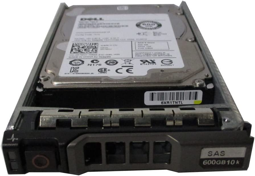 DELL 600GB 10K 6G 2.5INCH SAS HDD R72NV (Certified Refurbished)