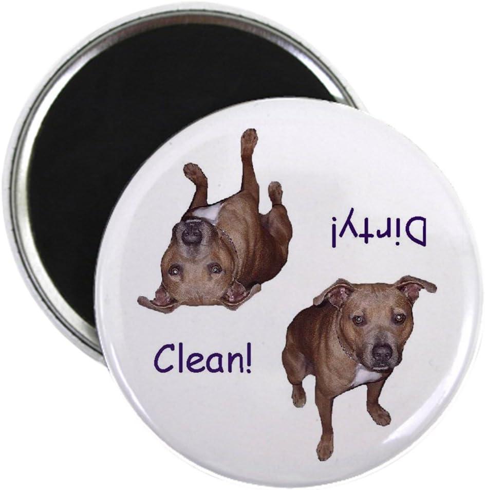 Bull Terrier Dog Breed Kitchen Refrigerator Locker Button Magnet