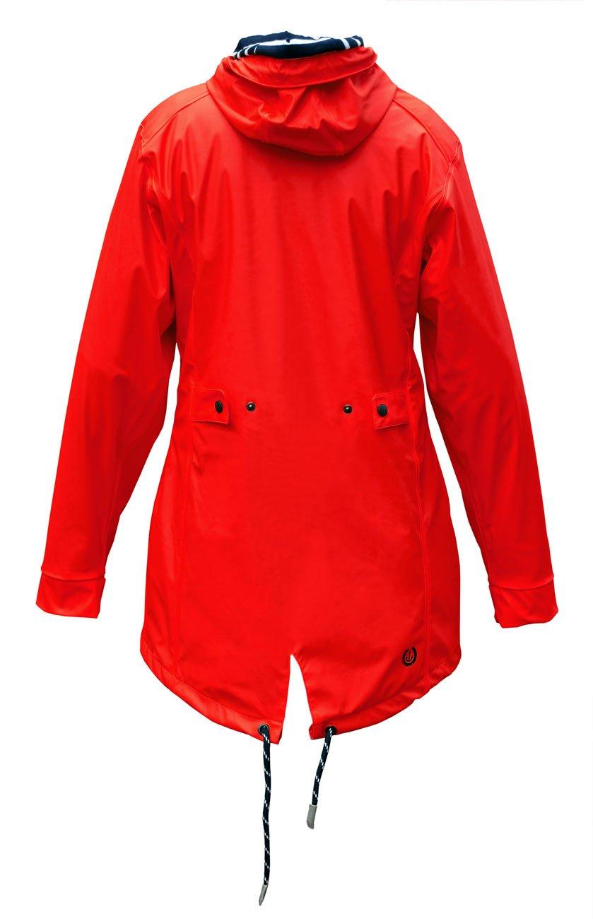 MADSea Rain Manteau de Pluie Femme PU en Rouge  1541600372-208907 ... ac162d1b8f4a