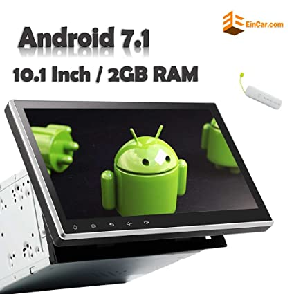 """Amazon com: Best Stereo!! 10 1"""" Android 7 1 2GB Car DVD"""