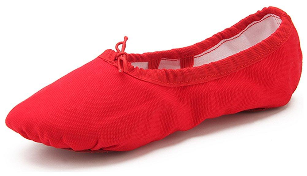 Dreamone Chaussures de Ballet Chaussures B01M9ILJ7G Fille Classique Chaussures de Danse Ballet Gymnastique Yoga Ballerines Chaussons Femme W-rouge 930dec6 - fast-weightloss-diet.space