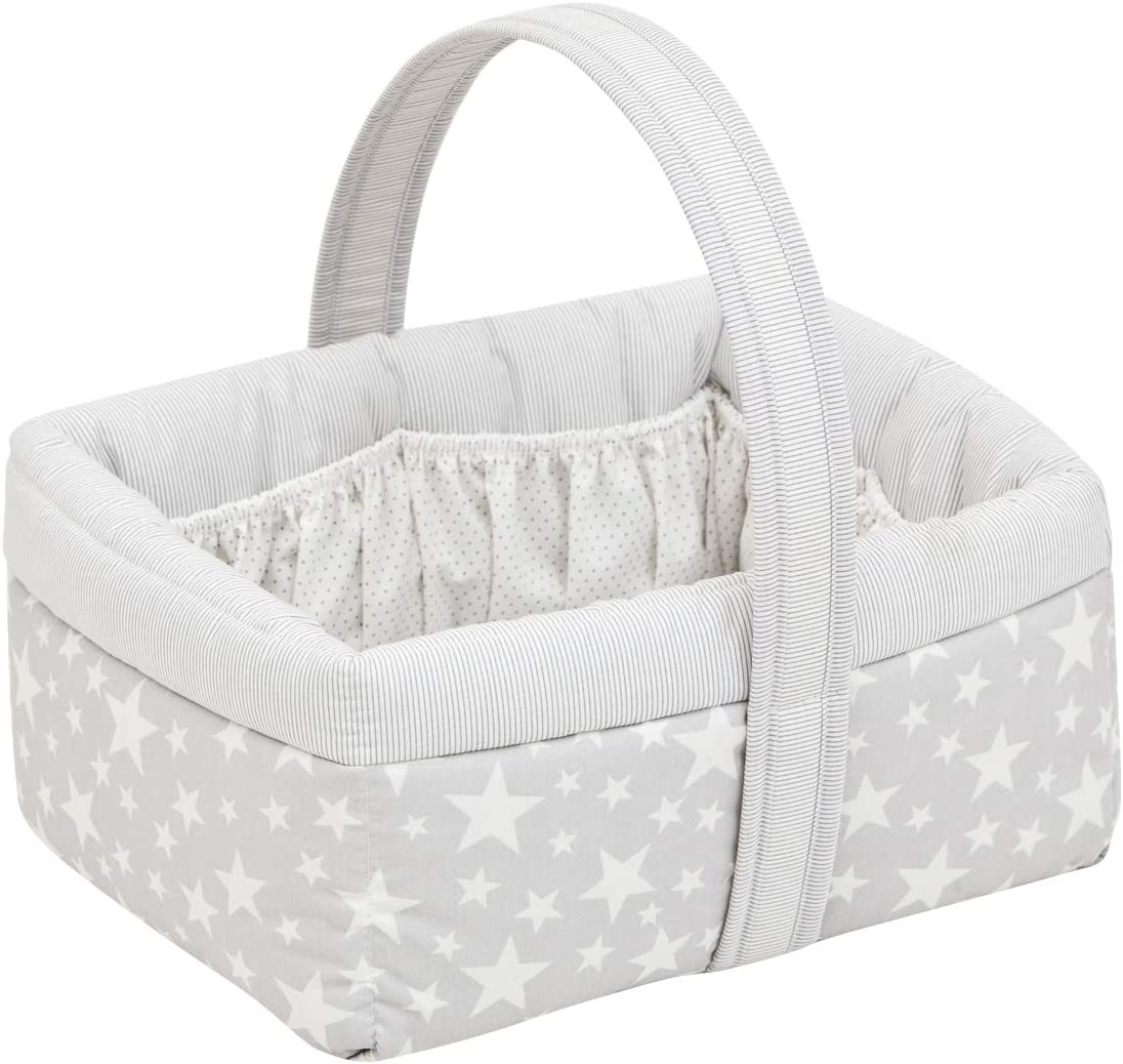 Cambrass Star - Cesta canastilla bebe, color gris