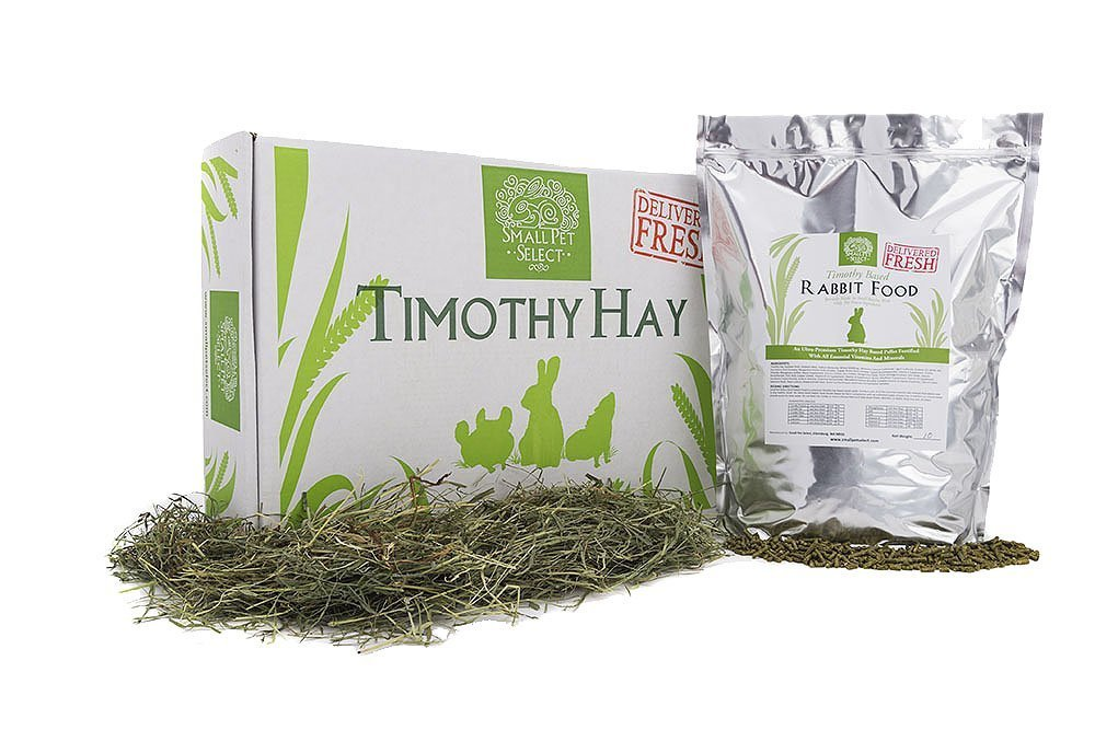 Small Pet Select Combo Pack, Timothy Hay (10 Lb.) And Rabbit Food (5 Lb.) by Small Pet Select