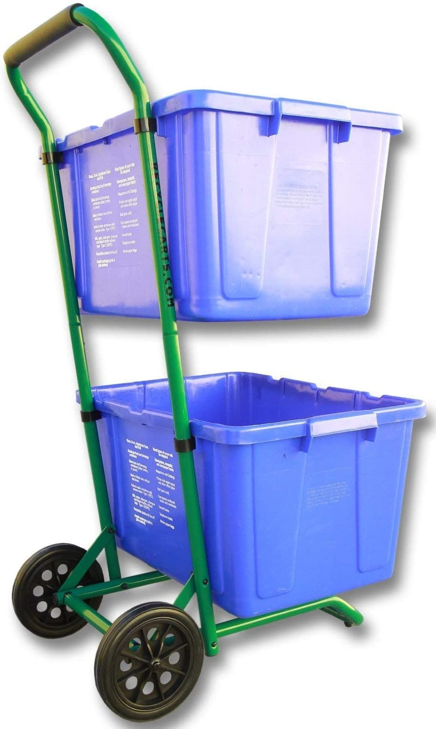 Recycle Carts for Recycle Bins Robust for Simple Recycle Bin Moving | Recycle Caddy (Twin Pack)