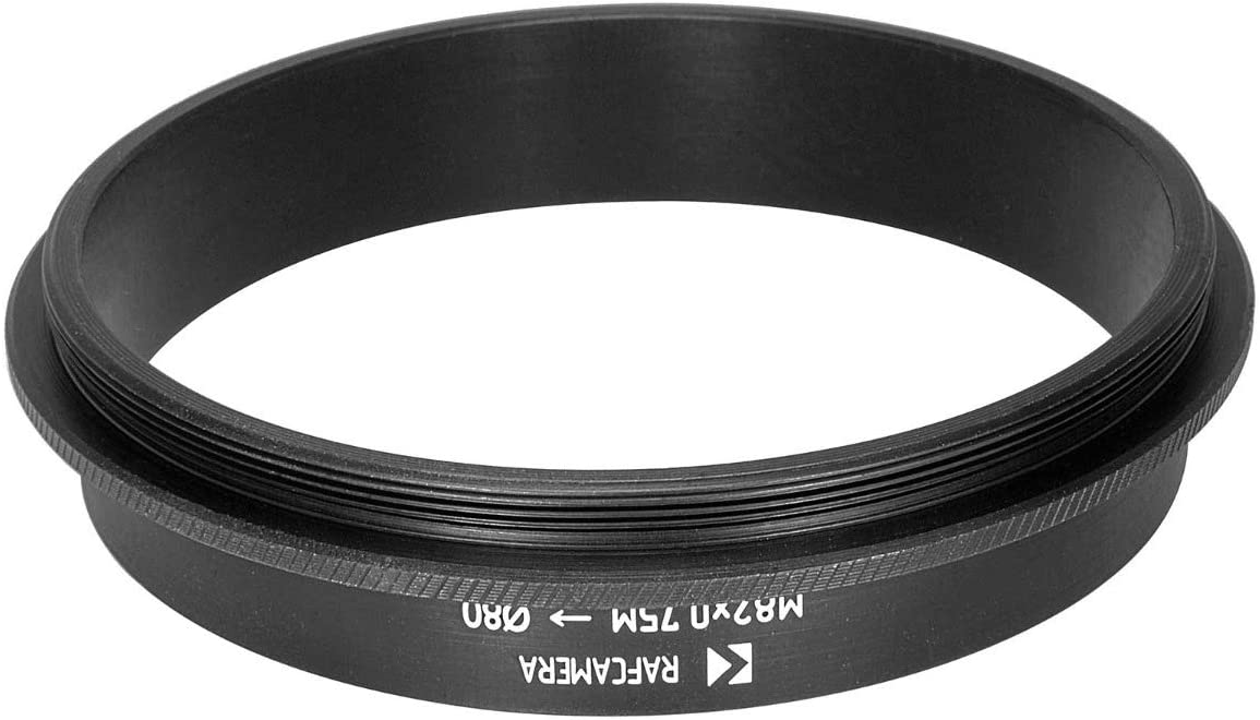 M82x0.75 Male Thread to 80mm Outer Diameter Adapter Lens Hood