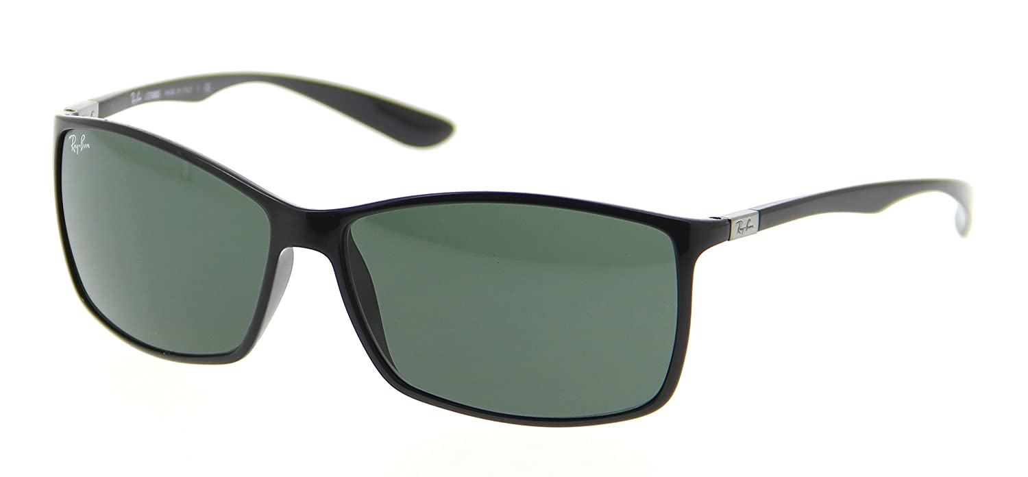 a238321ee21f2 Amazon.com  Ray Ban RB4179 Liteforce Sunglasses-601 71 Black (Green Lens)