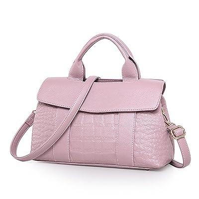 ad2024c6ebf7 Fanspack Women's Top Handle PU Leather Satchel Handbags Alligator ...