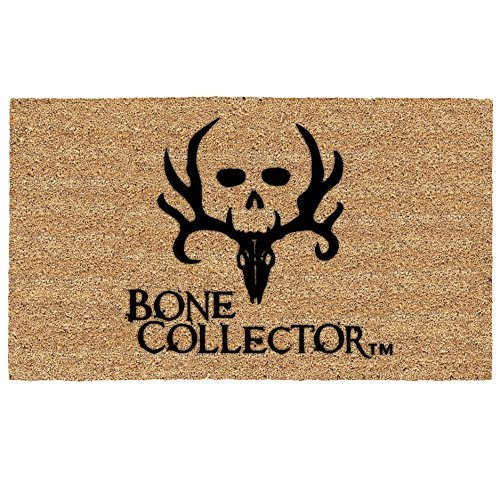 Bone Collector Logo Coir Door Mat Floormat