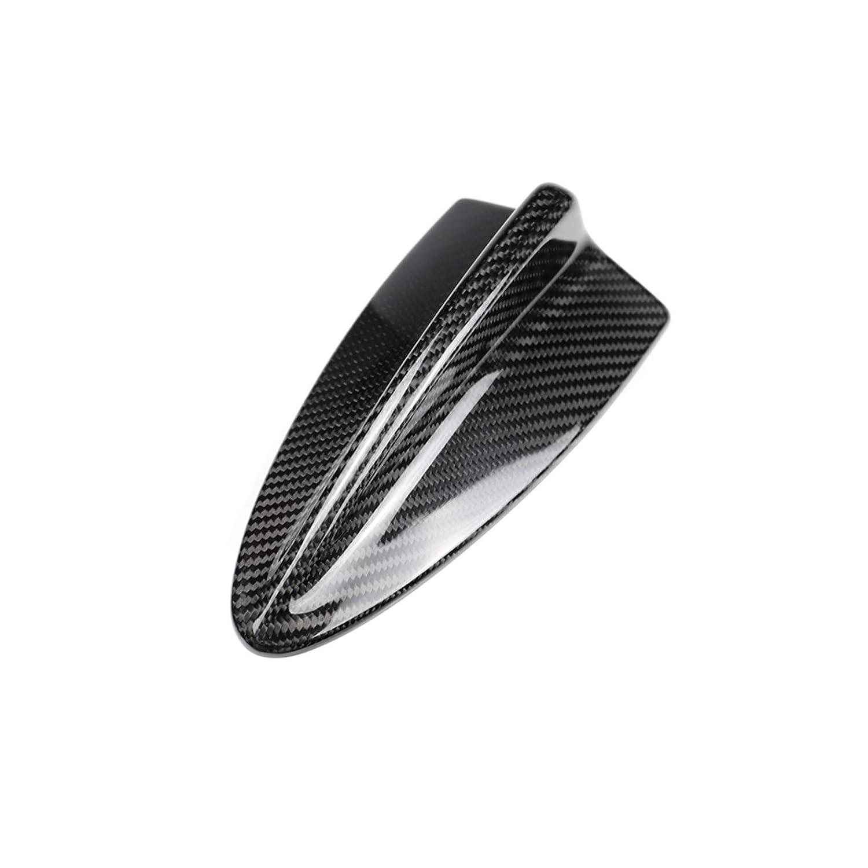 Carbon Fiber Roof Antenna Shark Fin Frame Decal Cover Trim for BMW 1 3 5 Series E46 E90 E91 E92 E60 E61 2004-2011 205