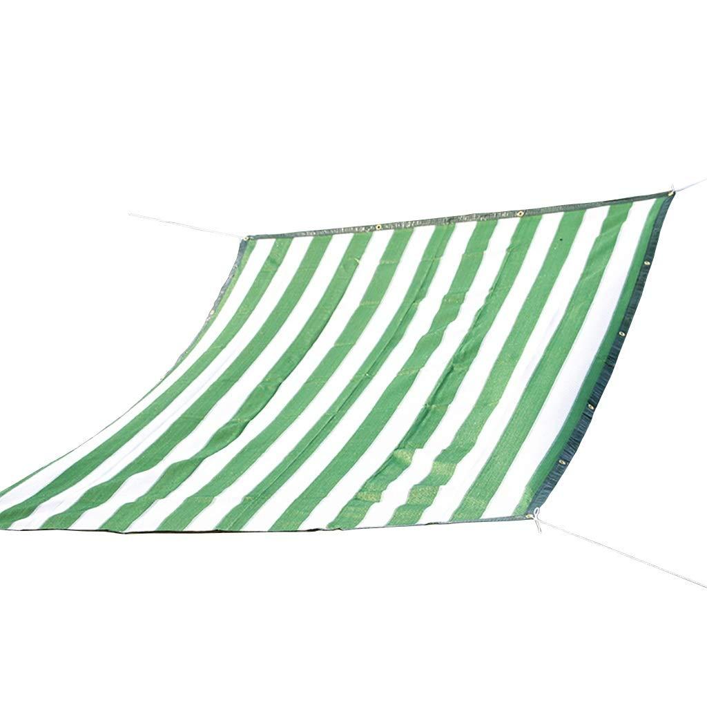 緑と白の6ピン暗号化ポリエチレンシェードネットガーデニンググリーン植物日焼け止めネット8サイズ。 (サイズ さいず : 5×4m) B07RJXRT1P  5×4m