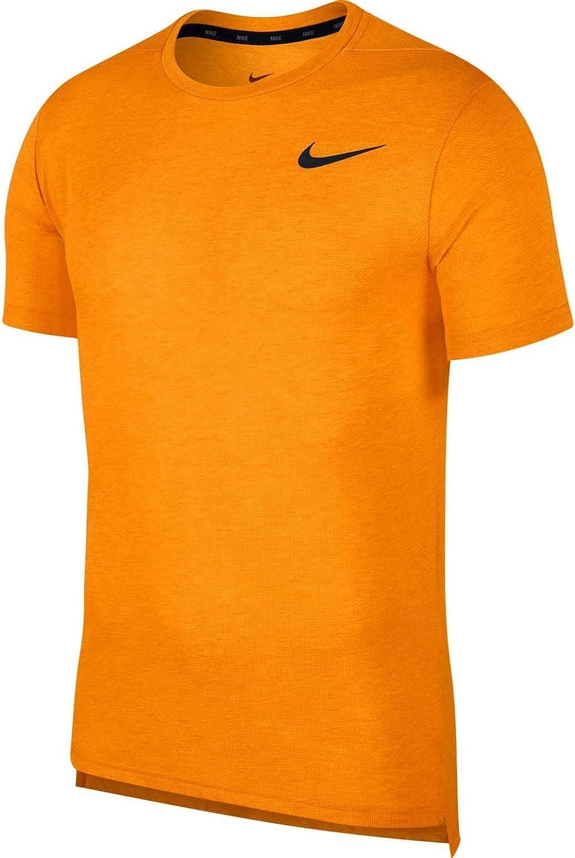 NIKE M Nk BRT Top SS Hpr Dry - Camiseta de Manga Corta Hombre: Amazon.es: Ropa y accesorios