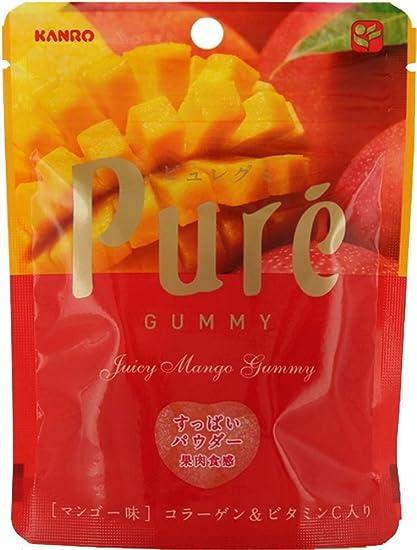 Kanro Co., Ltd. Pyuregumi bolsas de mango 56gX6