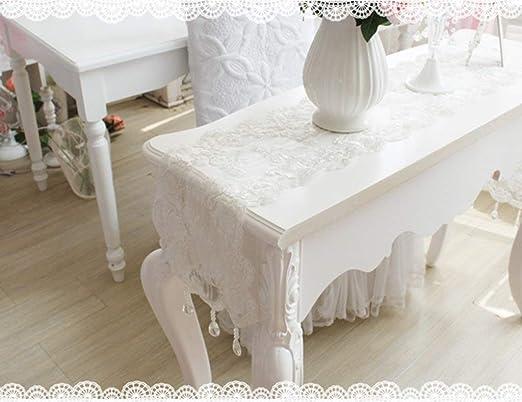 Mesa Corredores Encaje Blanco Cristal Colgante Sala de Estar ...