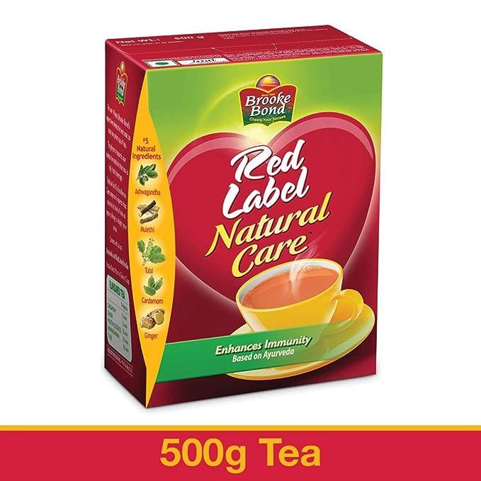 Boekenkast Basic Label.Red Label Natural Care Tea 500g