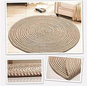 Tejido con una cuerda alfombra redonda sal n dormitorio - Alfombras dormitorio amazon ...