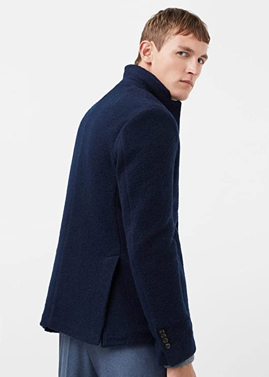MANGO MAN - Chaqueta de traje - para hombre azul azul marino ...