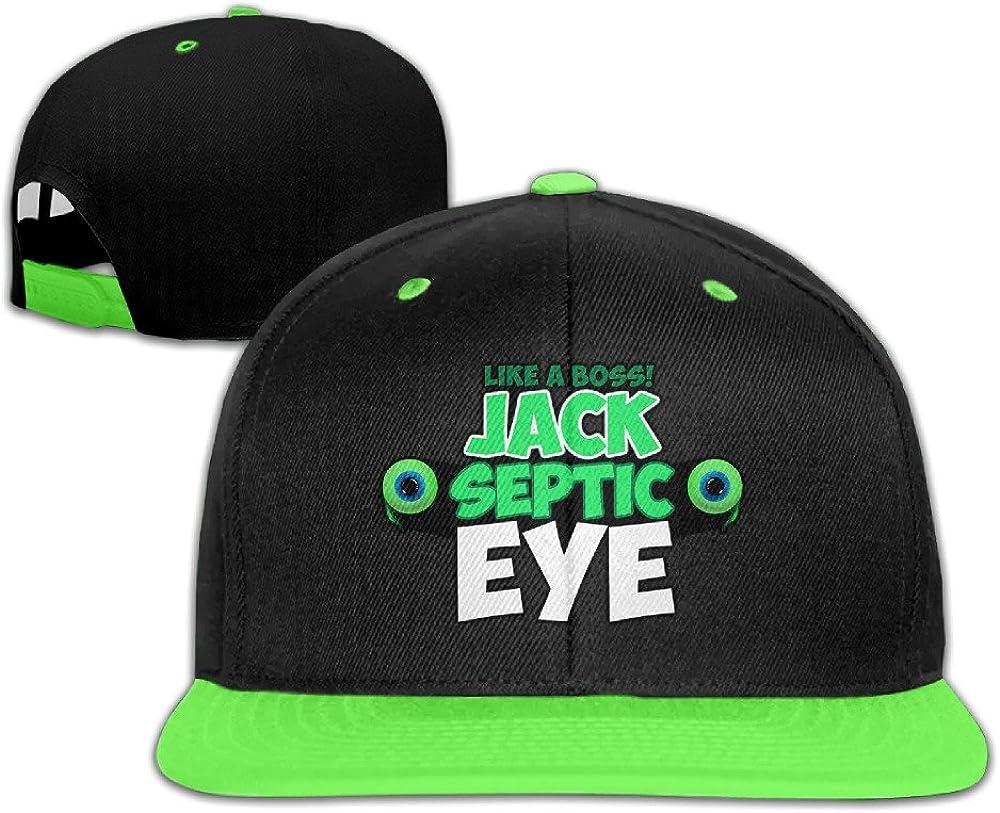 PGiG Kids Jacksepticeye Adjustable Snapback Hip Hop Baseball Hats Caps
