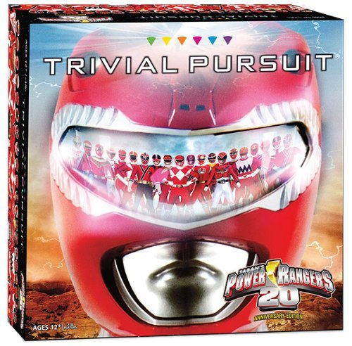 Power Rangers Trivial Pursuit Board Game (Ninja Board Game Card compare prices)
