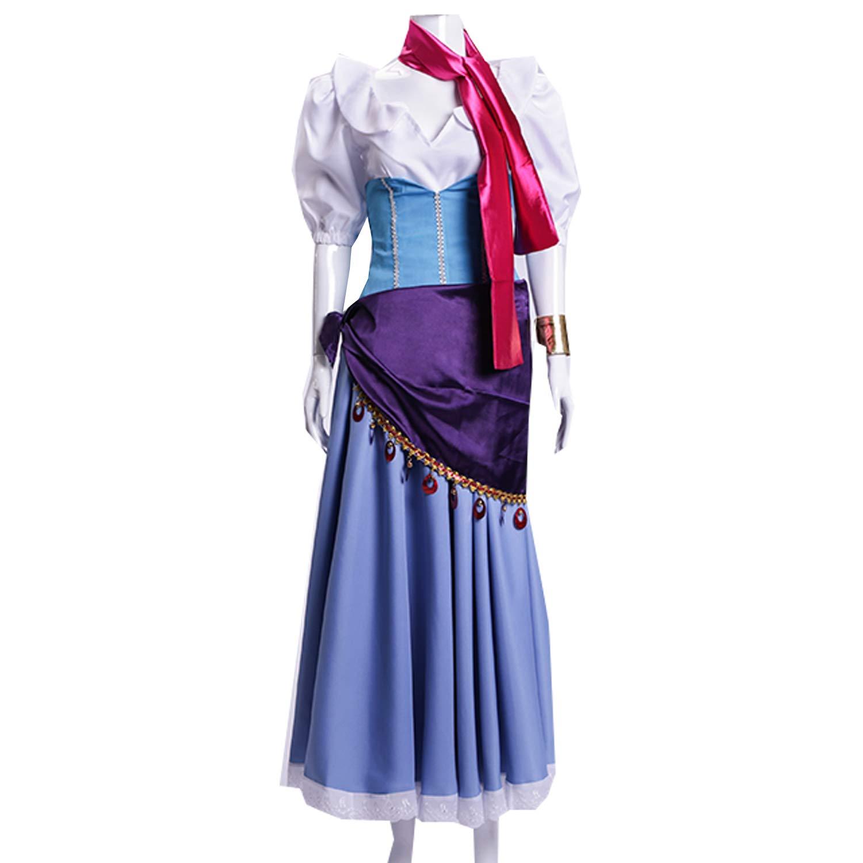 Amazon.com: MYYH Anime Esmeralda Cosplay Dress Women Ball Gown ...