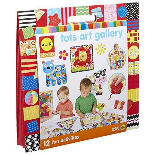 ALEX Toys - Junior Art Gallery Activity Kit with Keepsake Portfolio, 1827