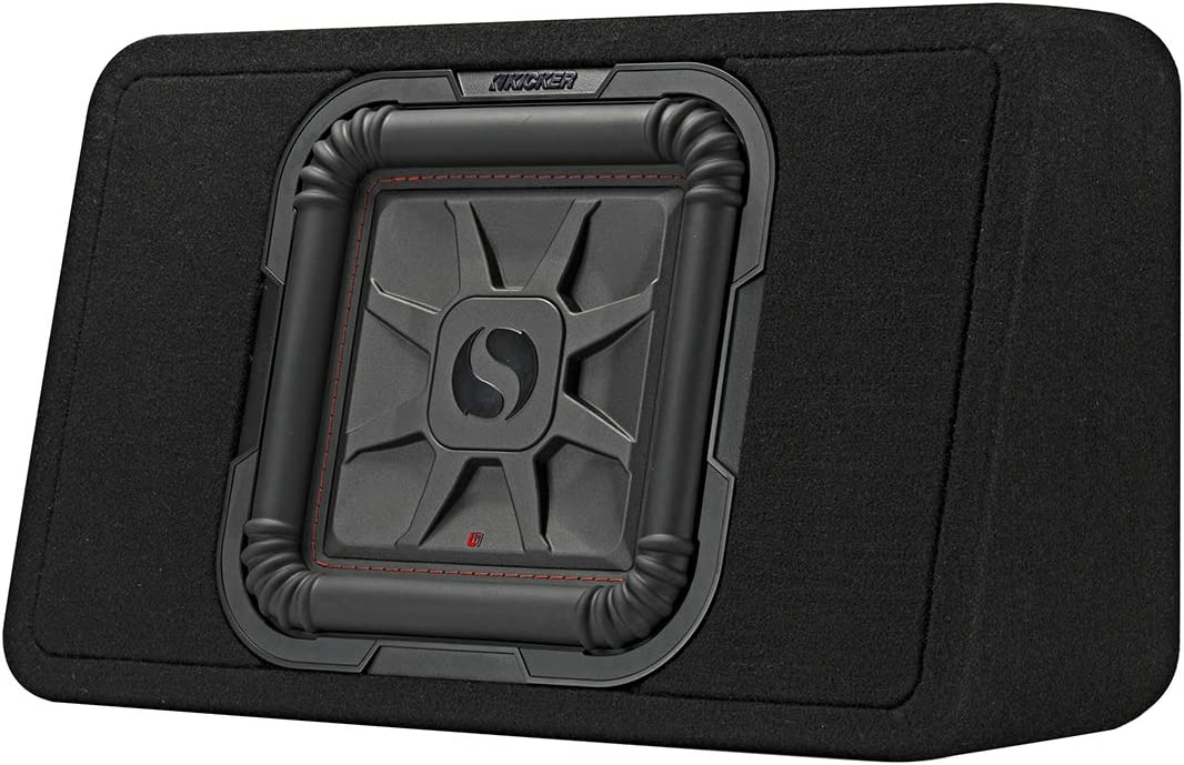Kicker 46TL7T104 10 4-ohm Shallow Loaded Enclosure